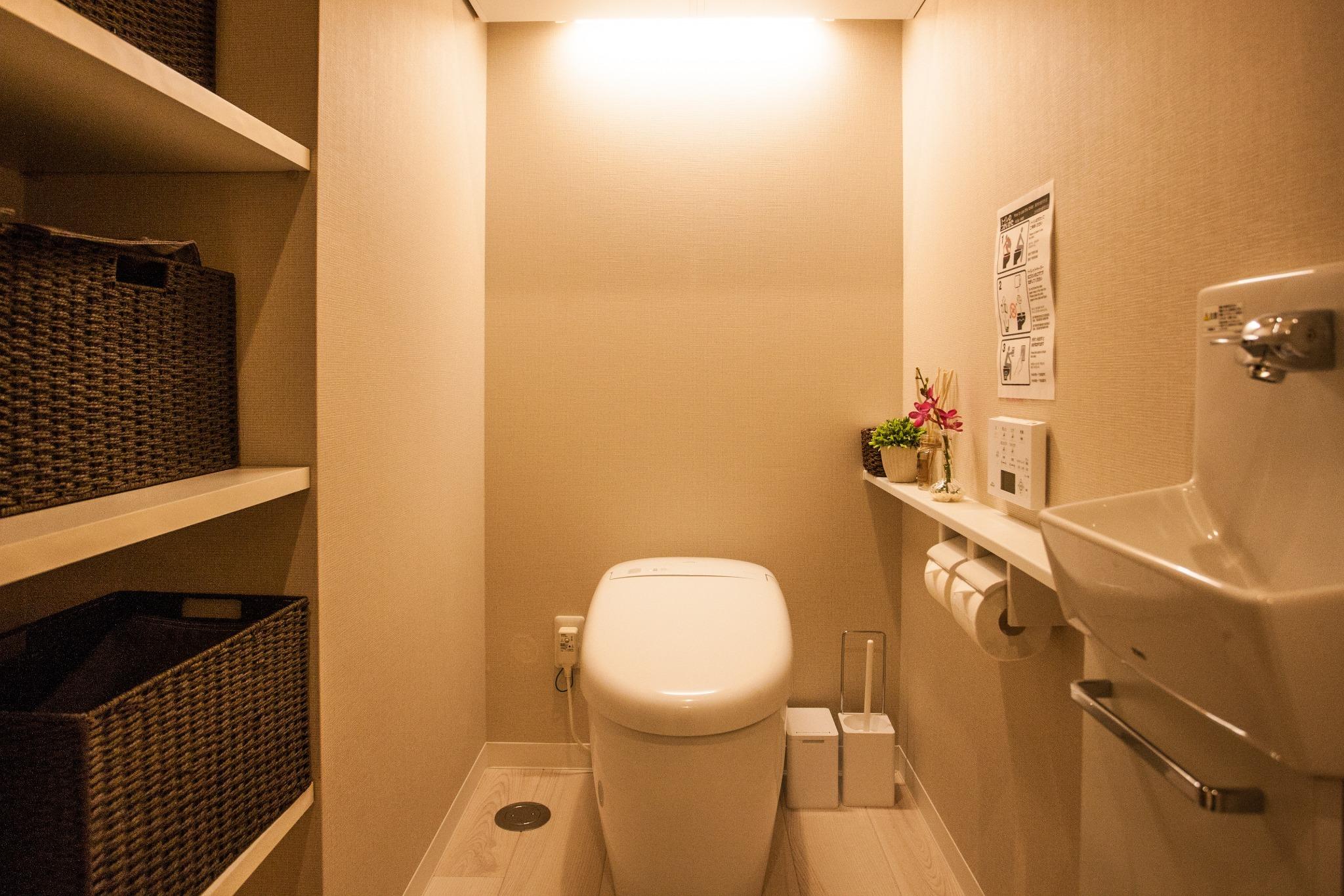Restroom / トイレ