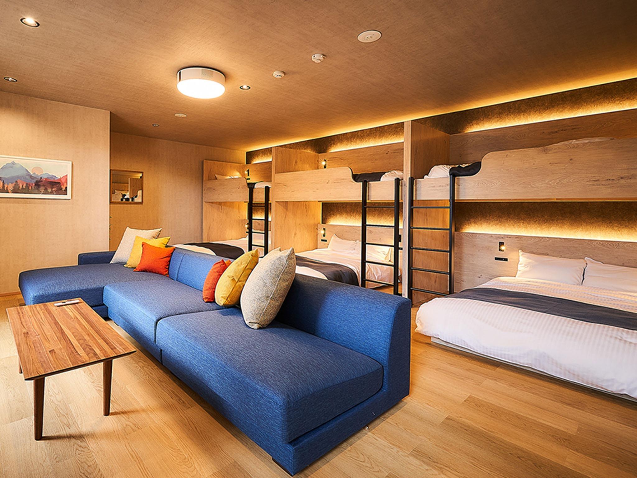 リビング&ベッドルーム