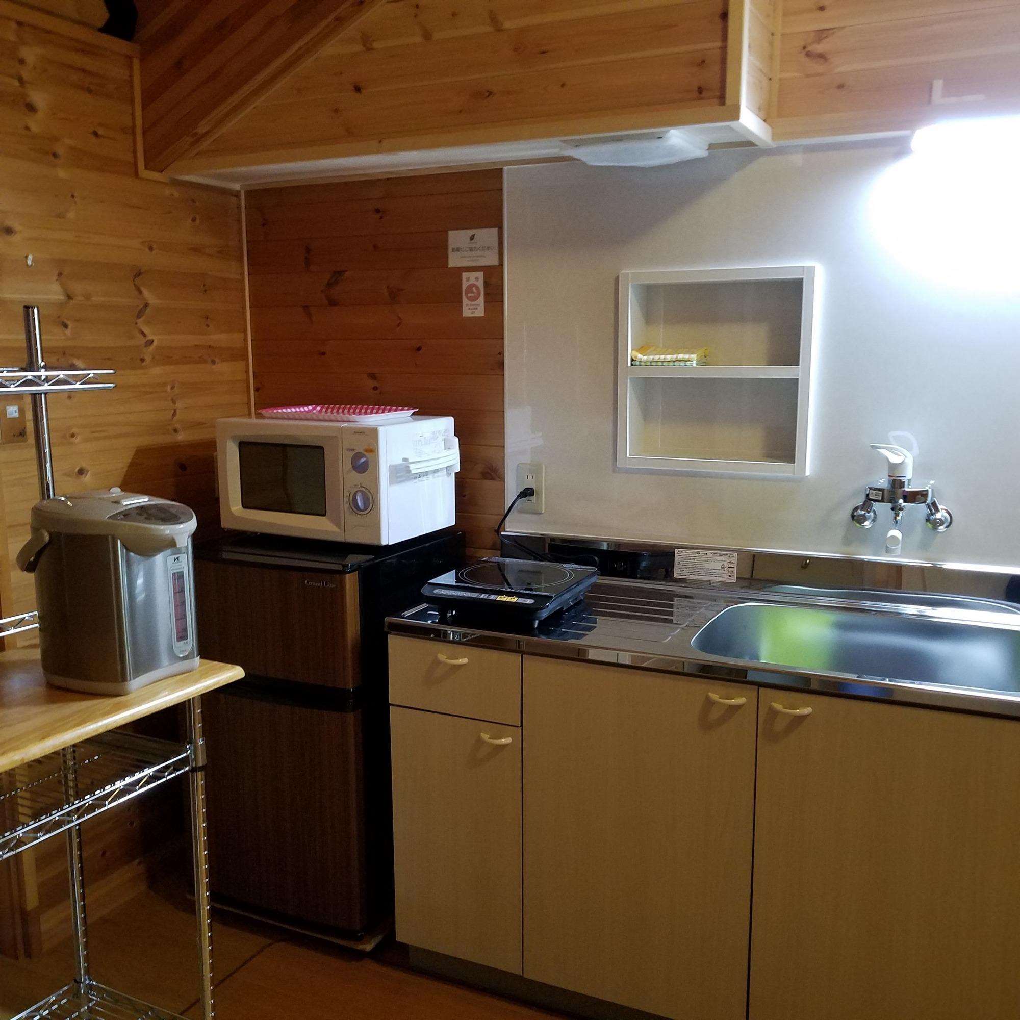 簡易キッチン(2階)